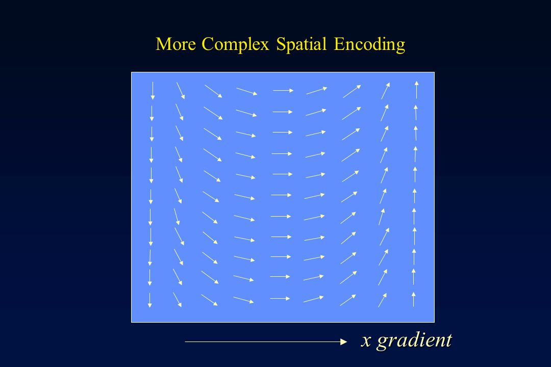 More Complex Spatial Encoding