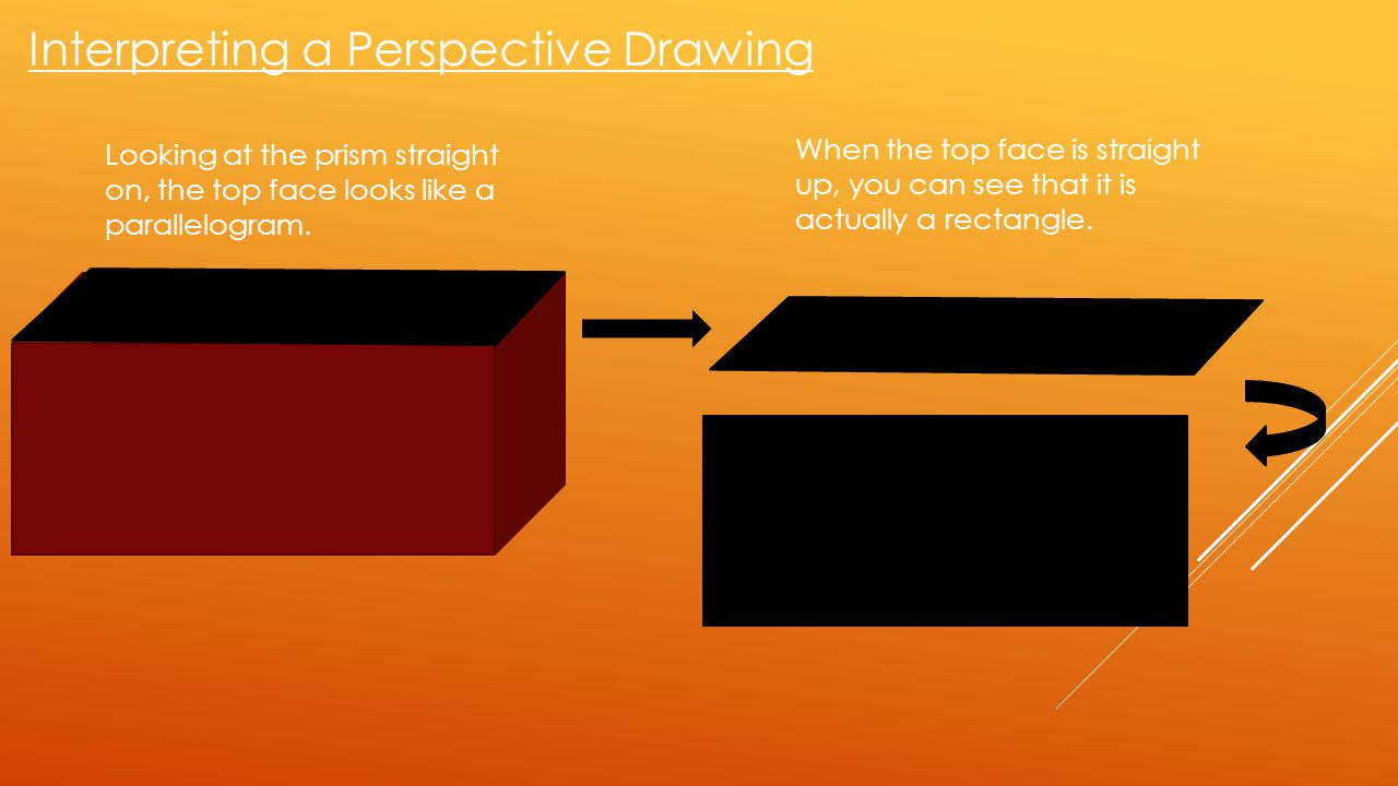 Interpreting a Perspective Drawing