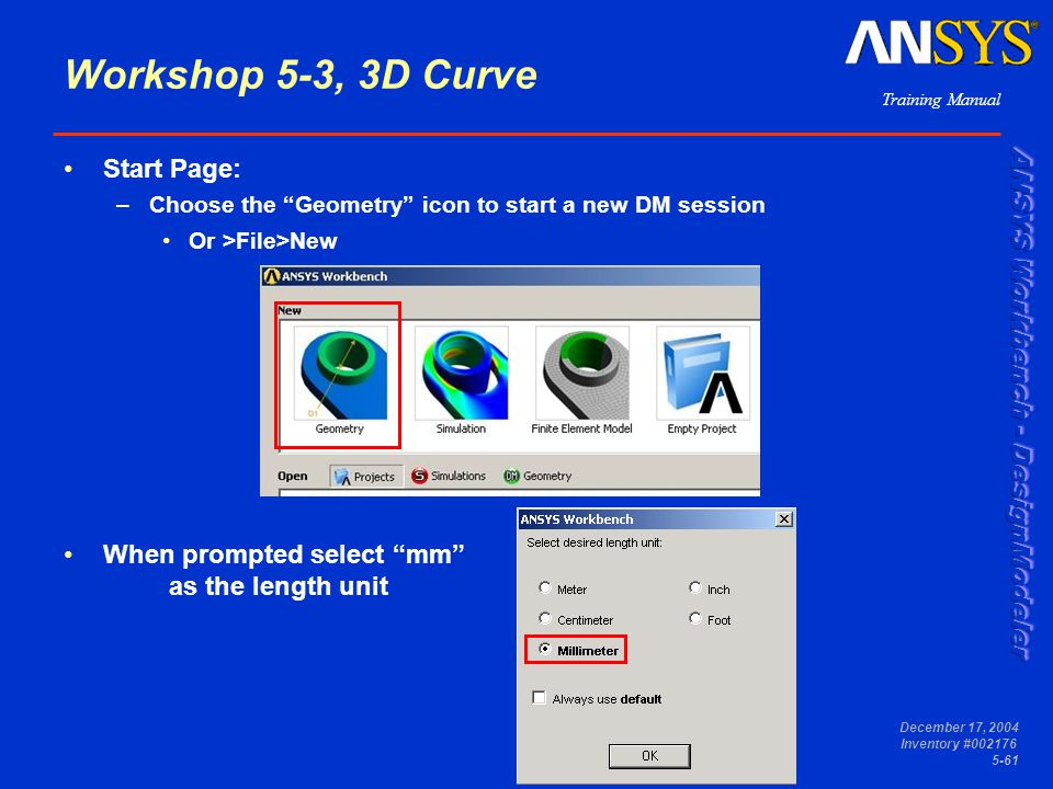 Workshop 5-3, 3D Curve Start Page: