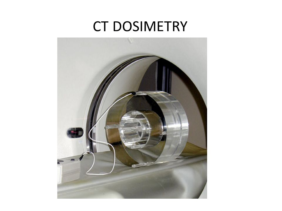 CT DOSIMETRY dosetools