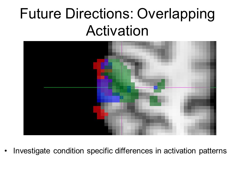 Future Directions: Overlapping Activation