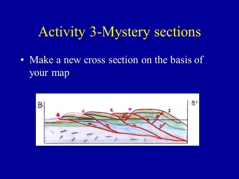 Activity 3-Mystery sections