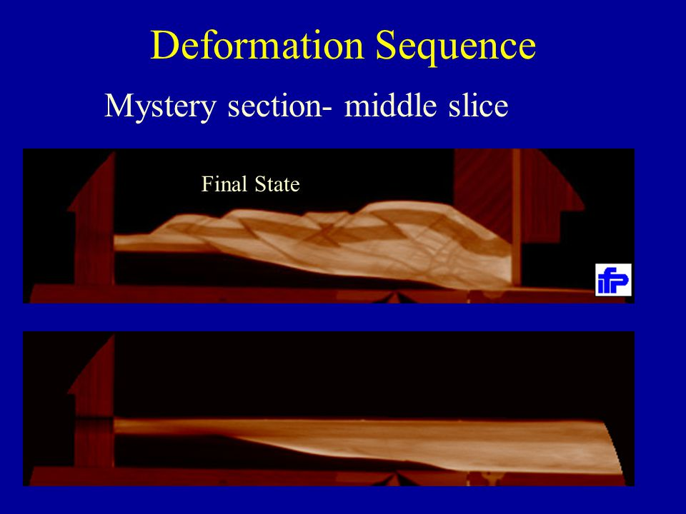 Deformation Sequence Mystery section- middle slice Final State