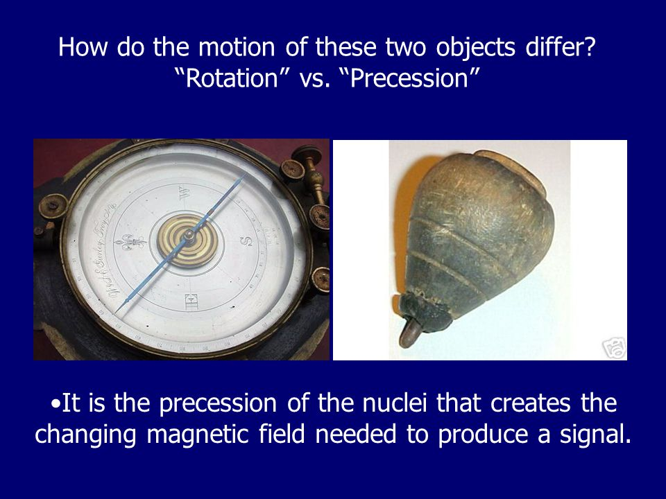How do the motion of these two objects differ