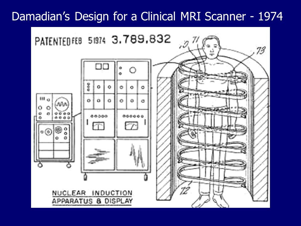 Damadian's Design for a Clinical MRI Scanner - 1974