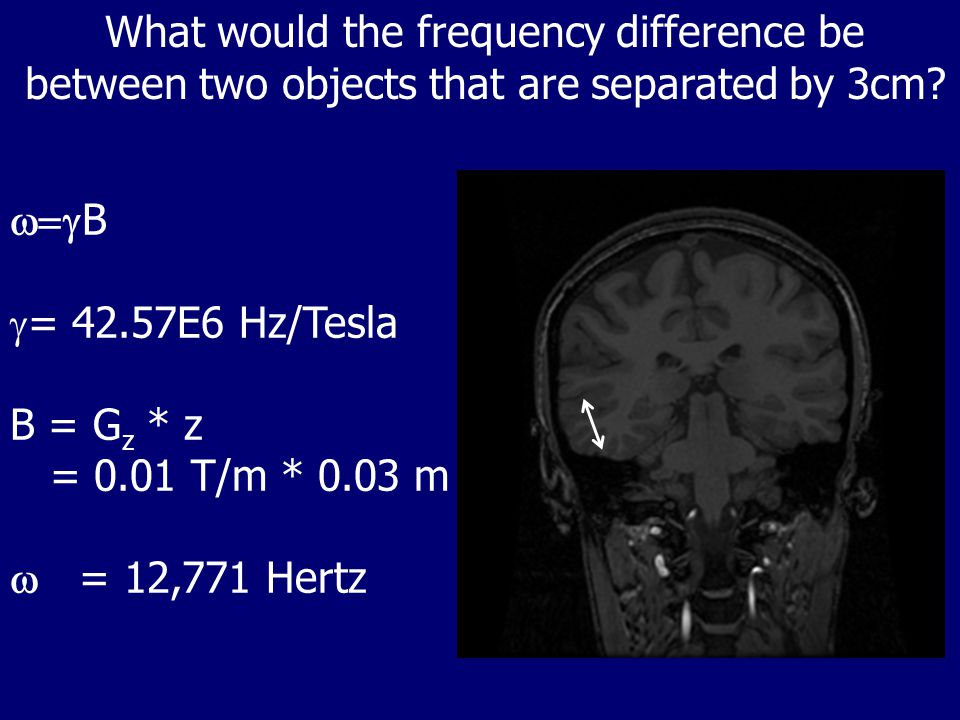 What would the frequency difference be