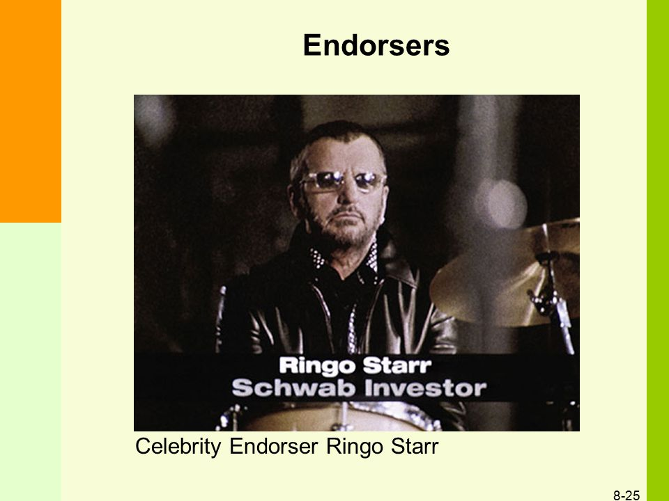Endorsers Celebrity Endorser Ringo Starr