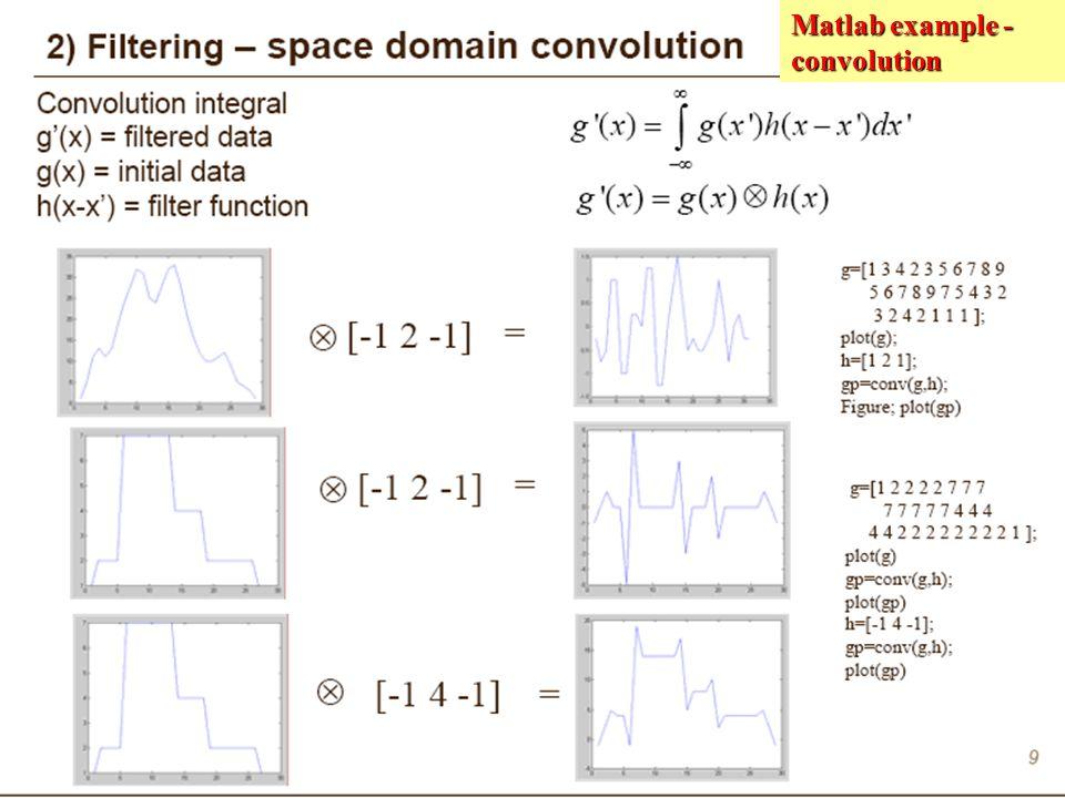 Matlab example - convolution