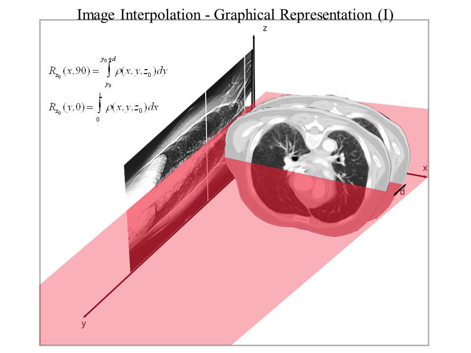 Image Interpolation - Graphical Representation (I)
