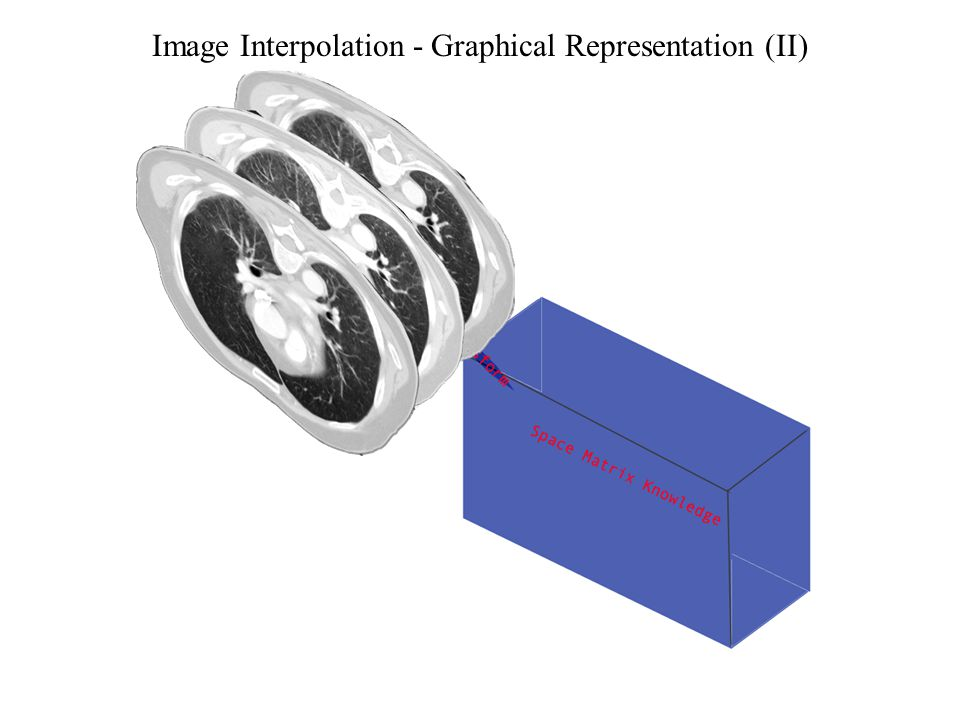 Image Interpolation - Graphical Representation (II)