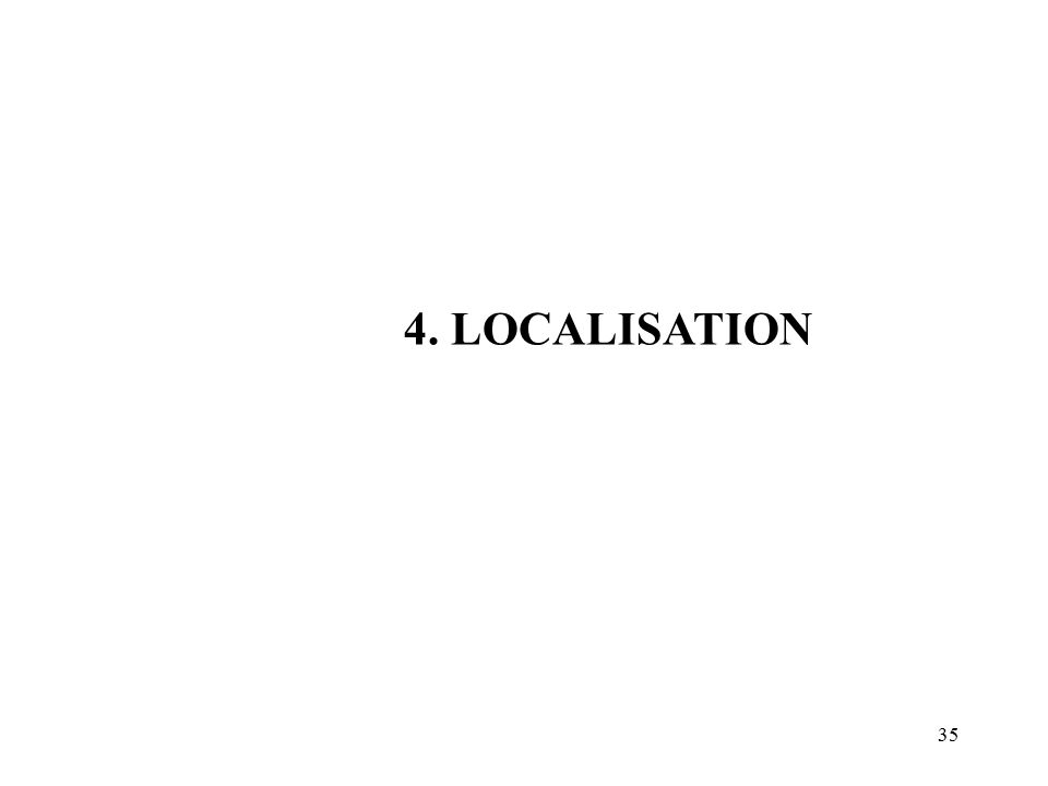 4. LOCALISATION