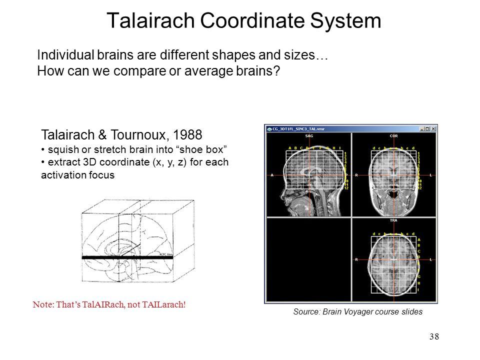 Talairach Coordinate System