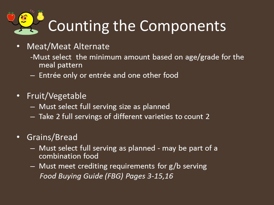 Counting the Components