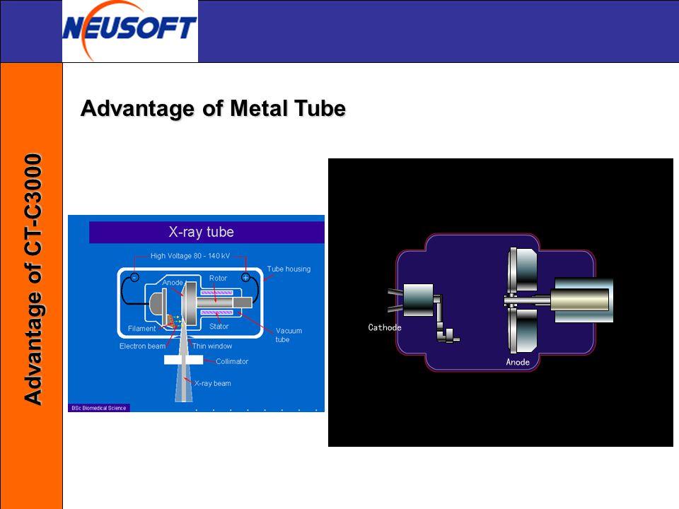 Advantage of Metal Tube