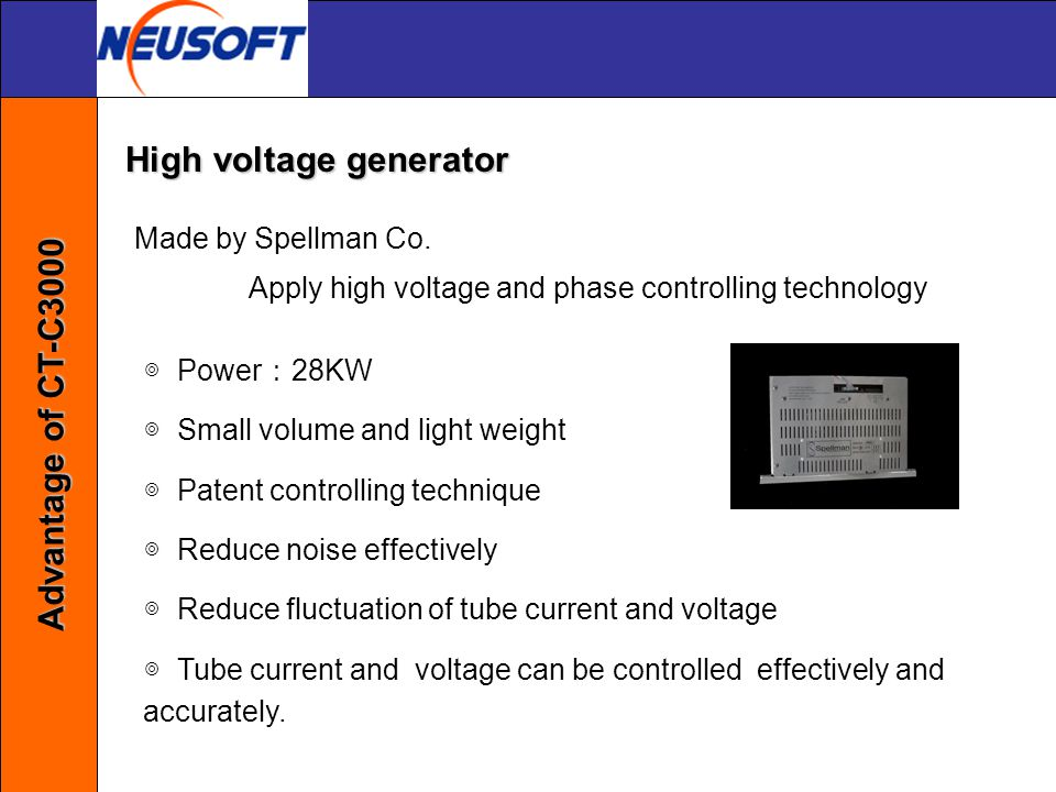 Apply high voltage and phase controlling technology