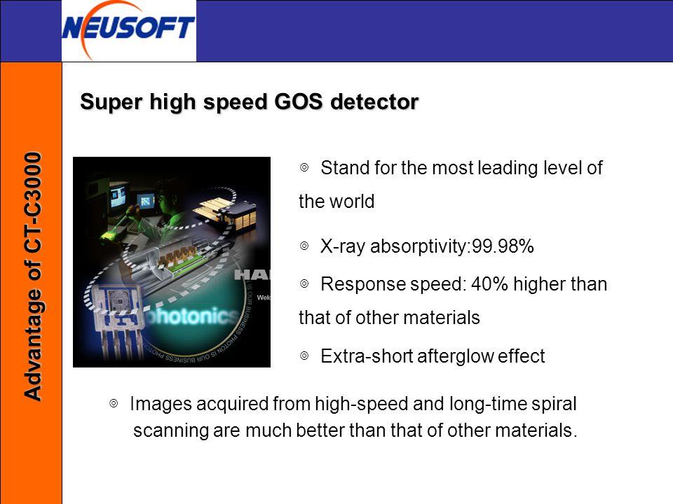 Super high speed GOS detector