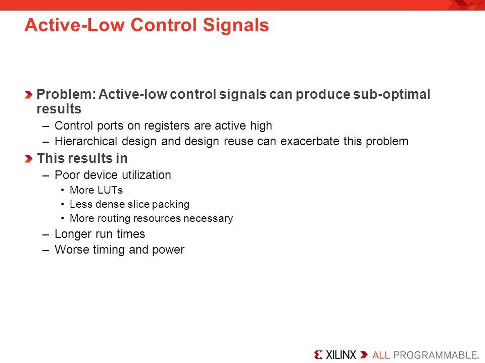 Active-Low Control Signals