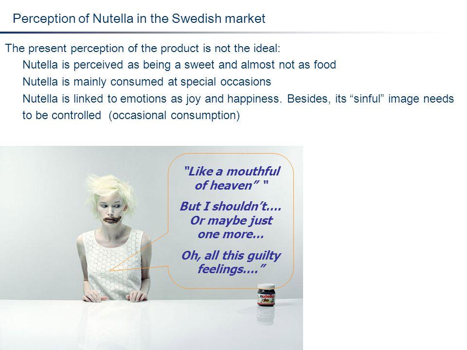 Perception of Nutella in the Swedish market