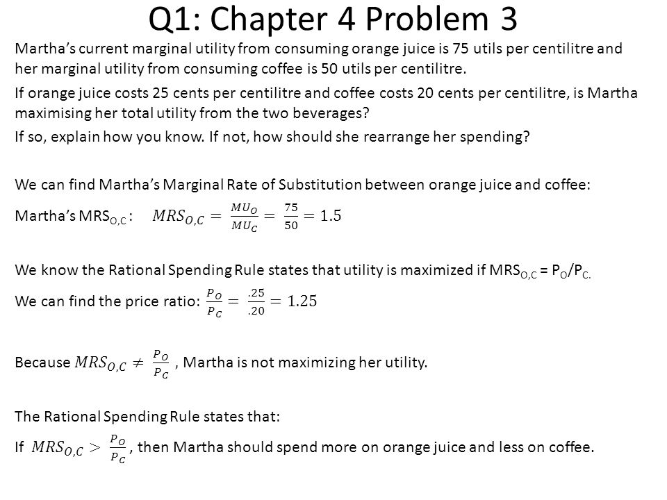 Q1: Chapter 4 Problem 3