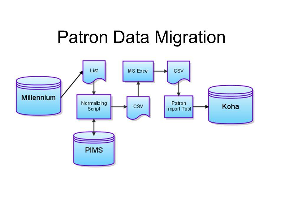 Patron Data Migration