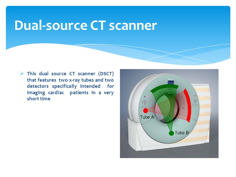Dual-source CT scanner