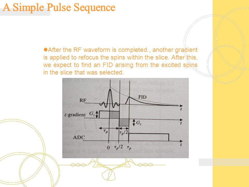A Simple Pulse Sequence