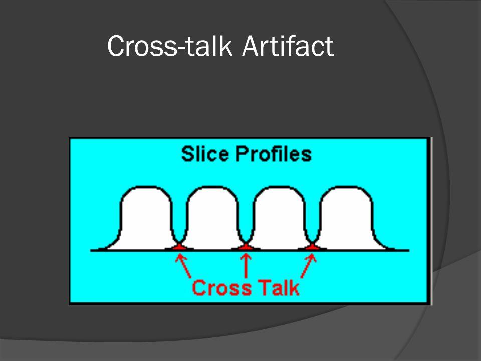 Cross-talk Artifact