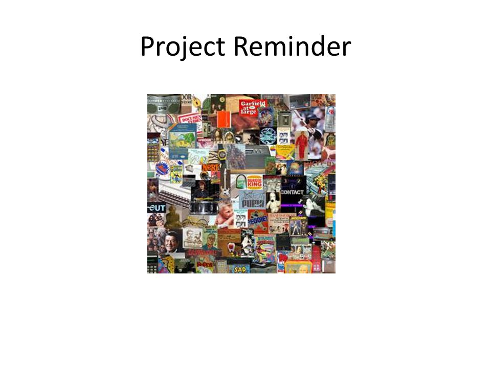 Project Reminder