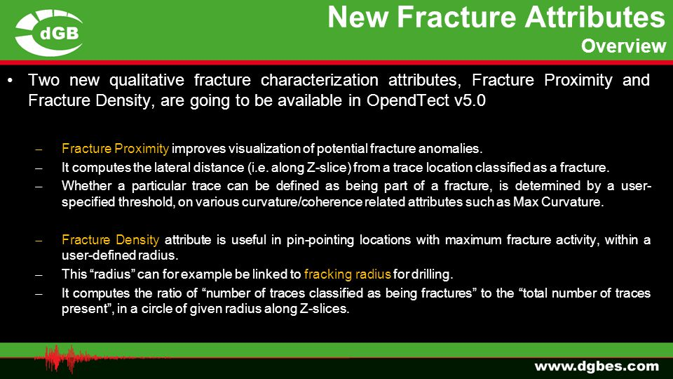 New Fracture Attributes Overview