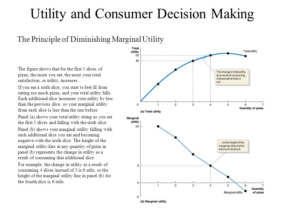 Utility and Consumer Decision Making