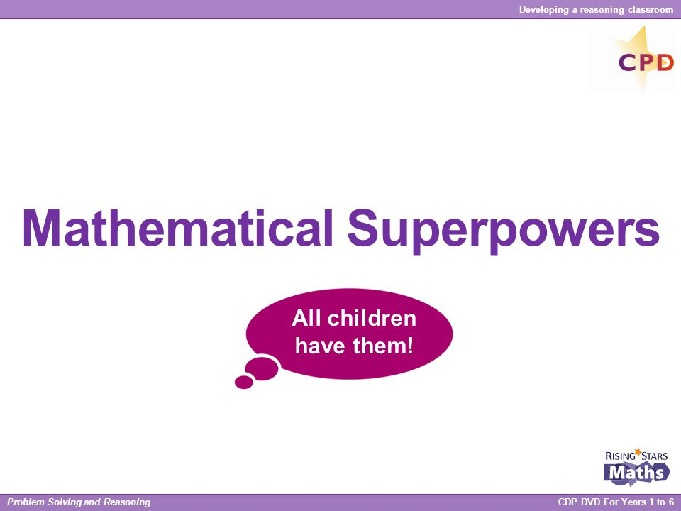 Mathematical Superpowers