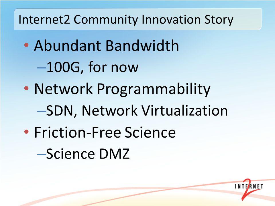 Internet2 Community Innovation Story