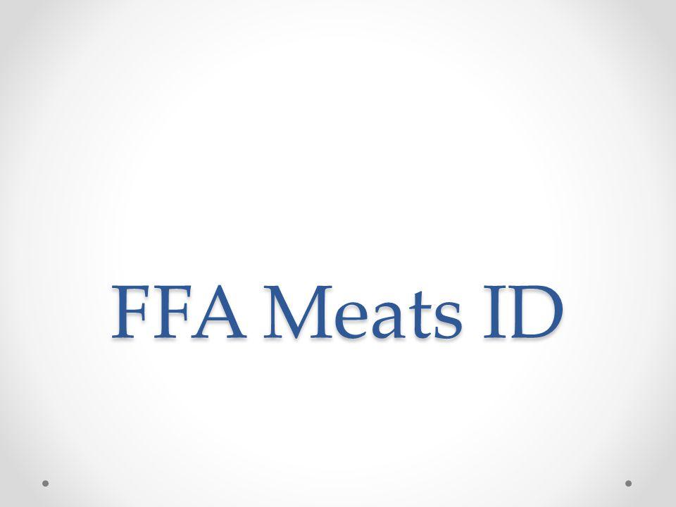FFA Meats ID