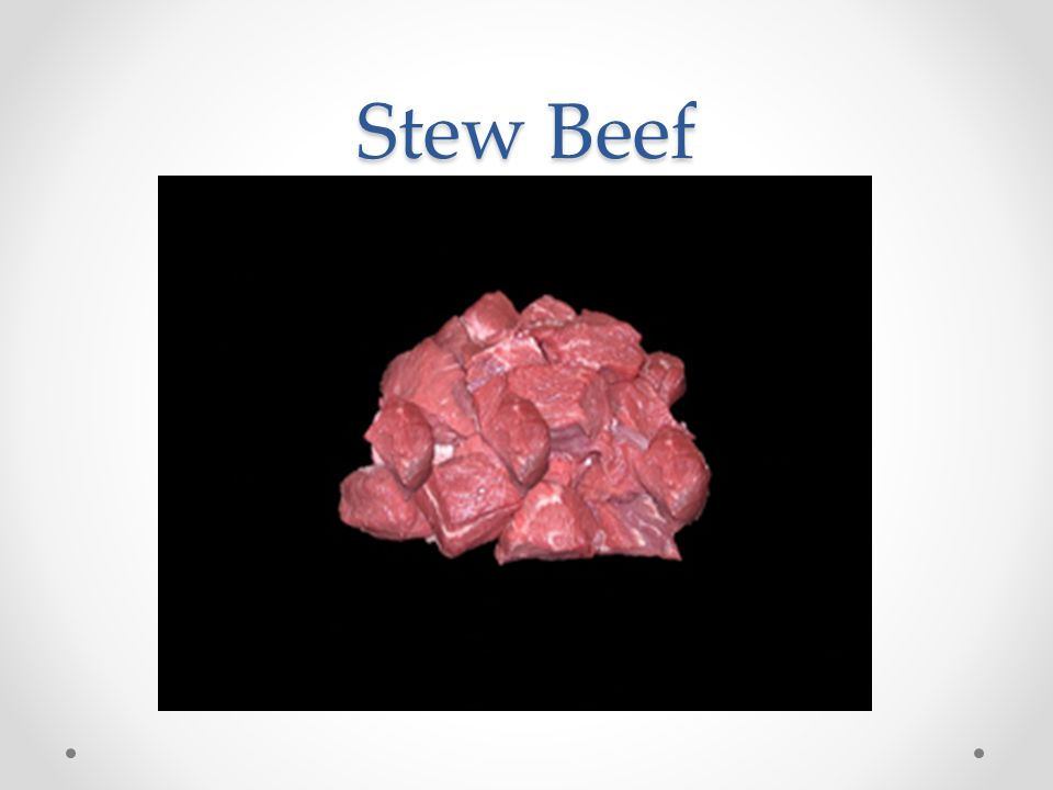 Stew Beef