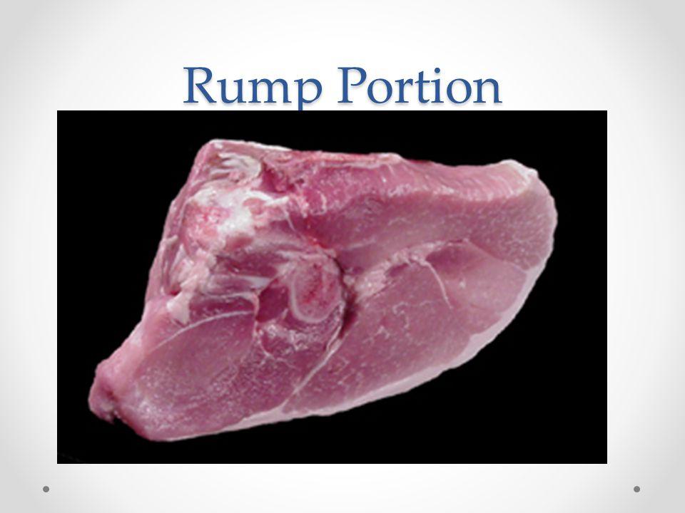 Rump Portion