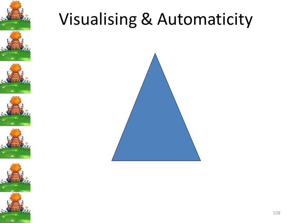 Visualising & Automaticity