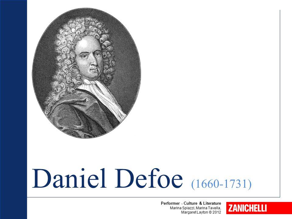 Daniel Defoe (1660-1731) Beowulf Performer - Culture & Literature