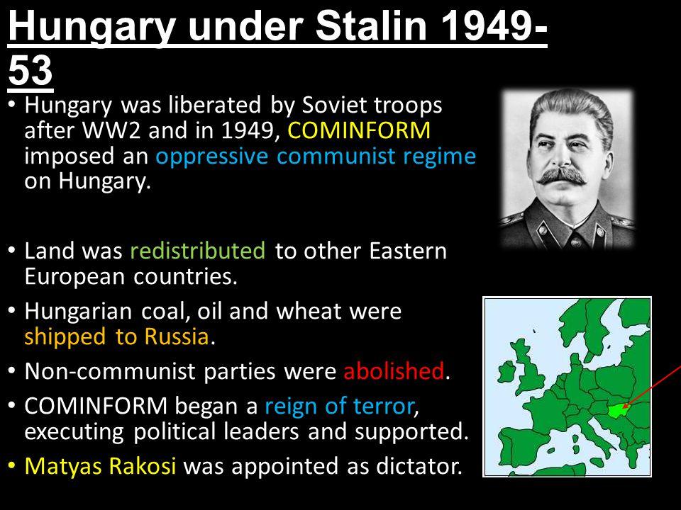 Hungary under Stalin 1949-53
