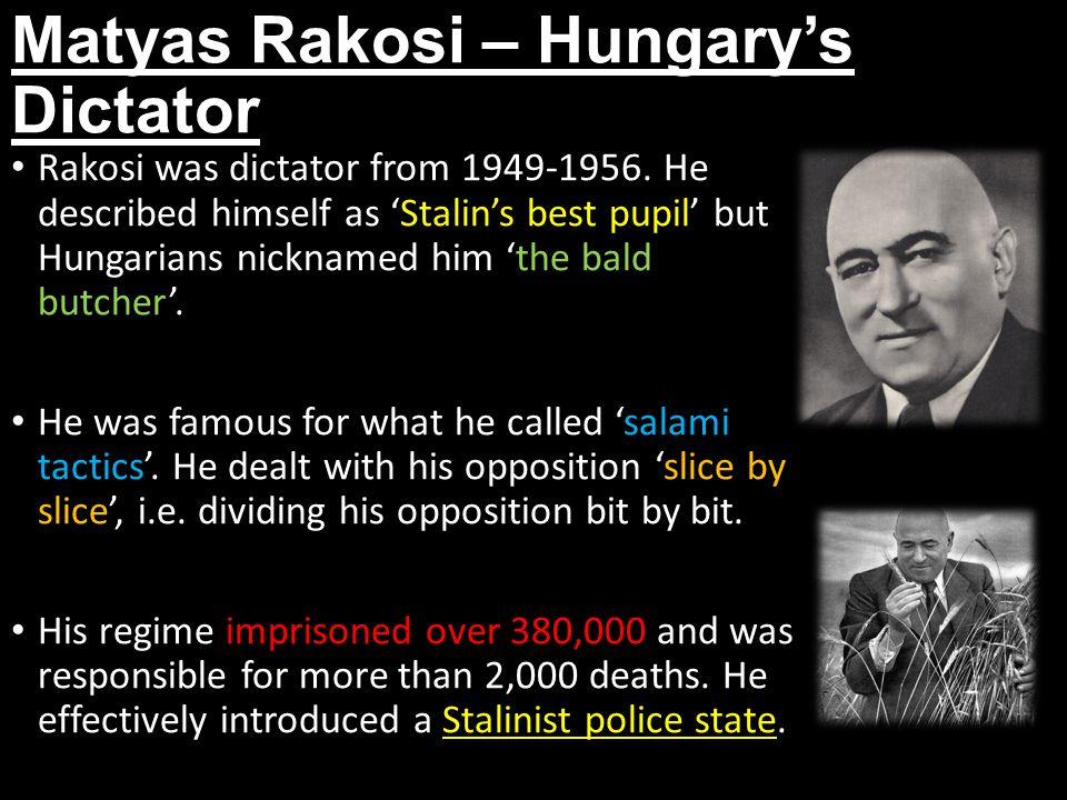 Matyas Rakosi – Hungary's Dictator
