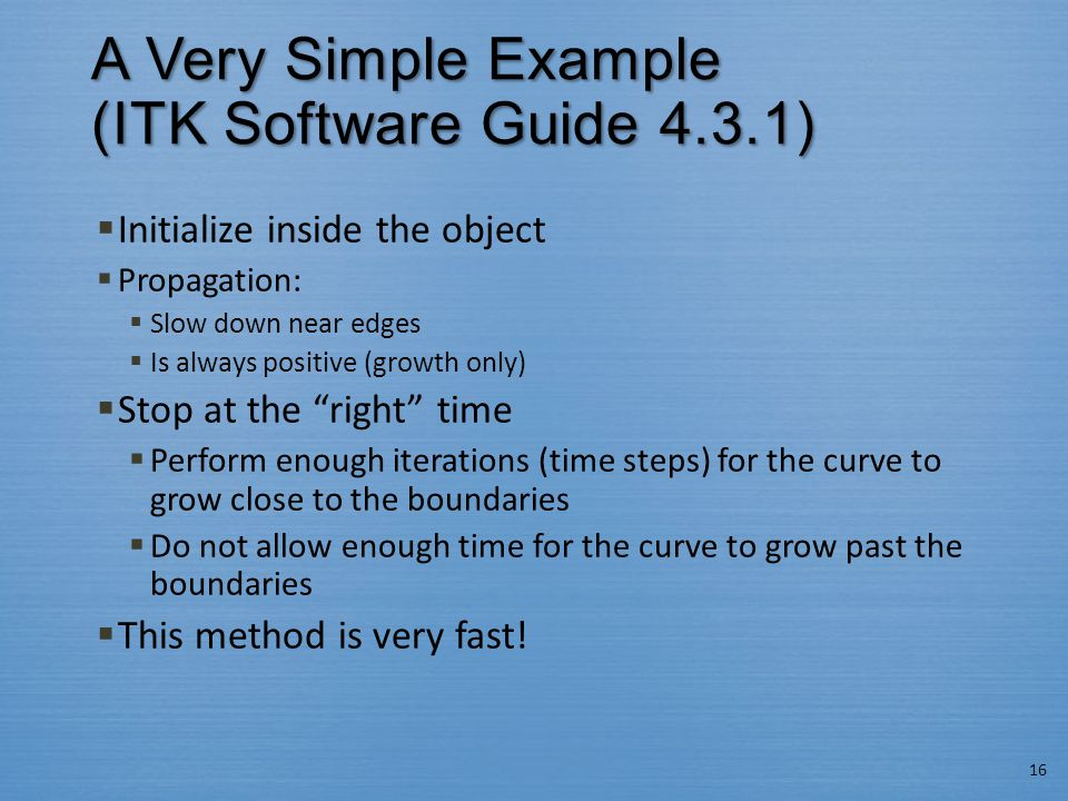 A Very Simple Example (ITK Software Guide 4.3.1)