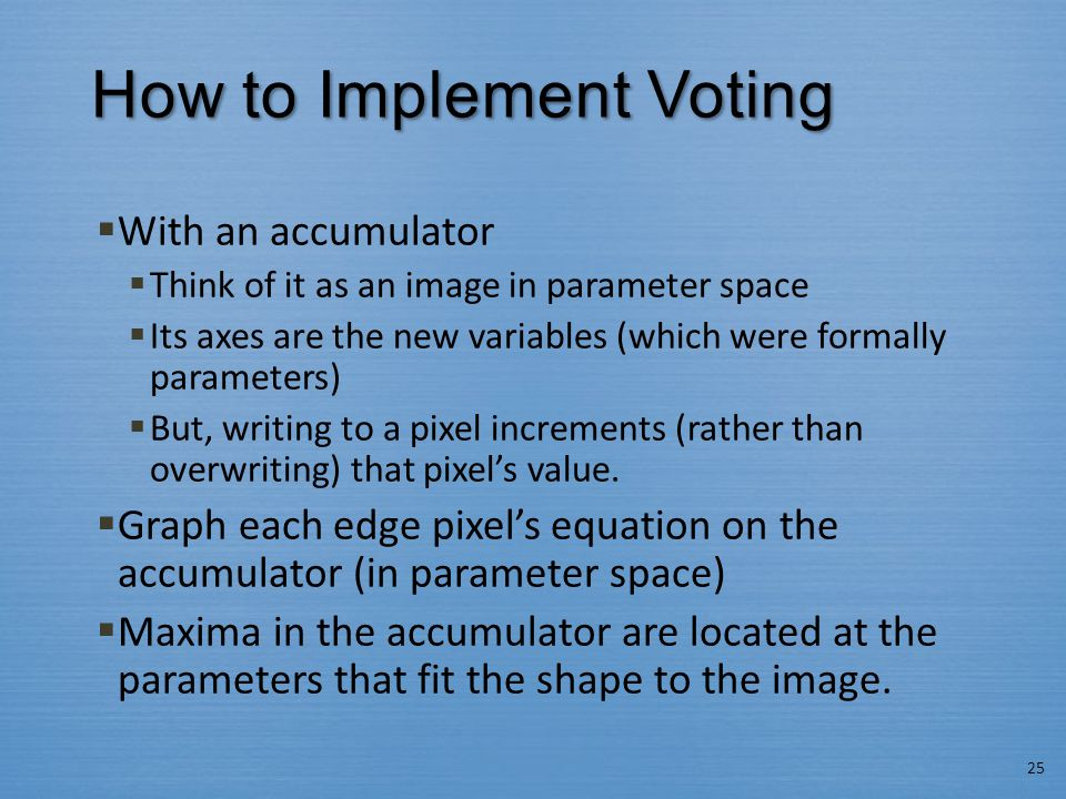 How to Implement Voting