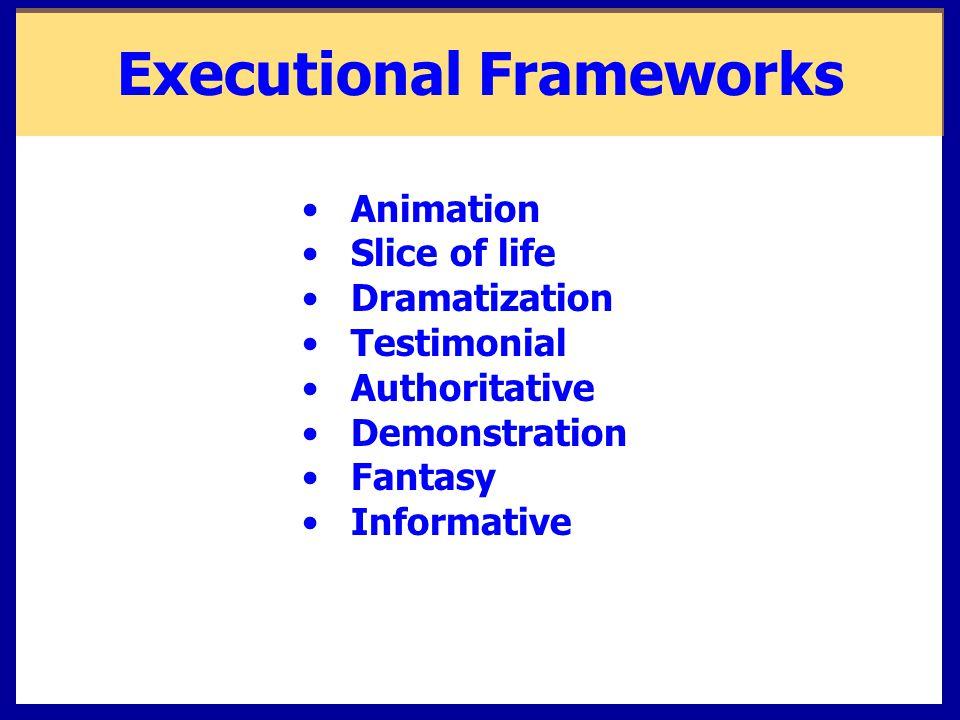 Executional Frameworks