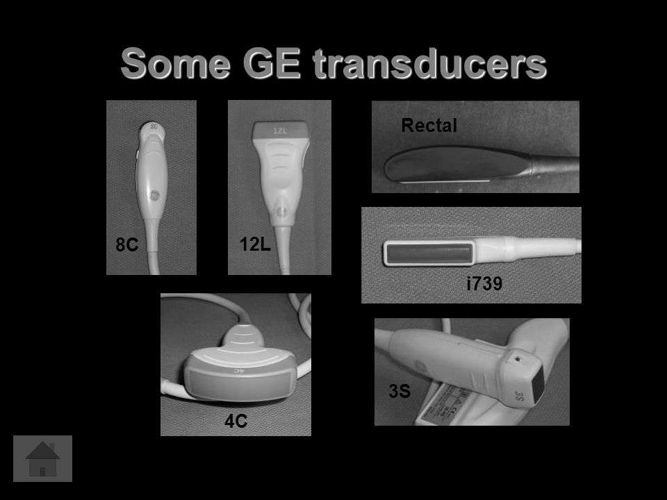Some GE transducers 8C 12L Rectal i739 4C 3S
