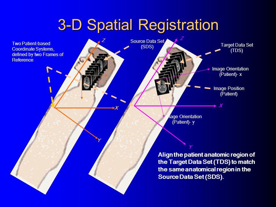 3-D Spatial Registration