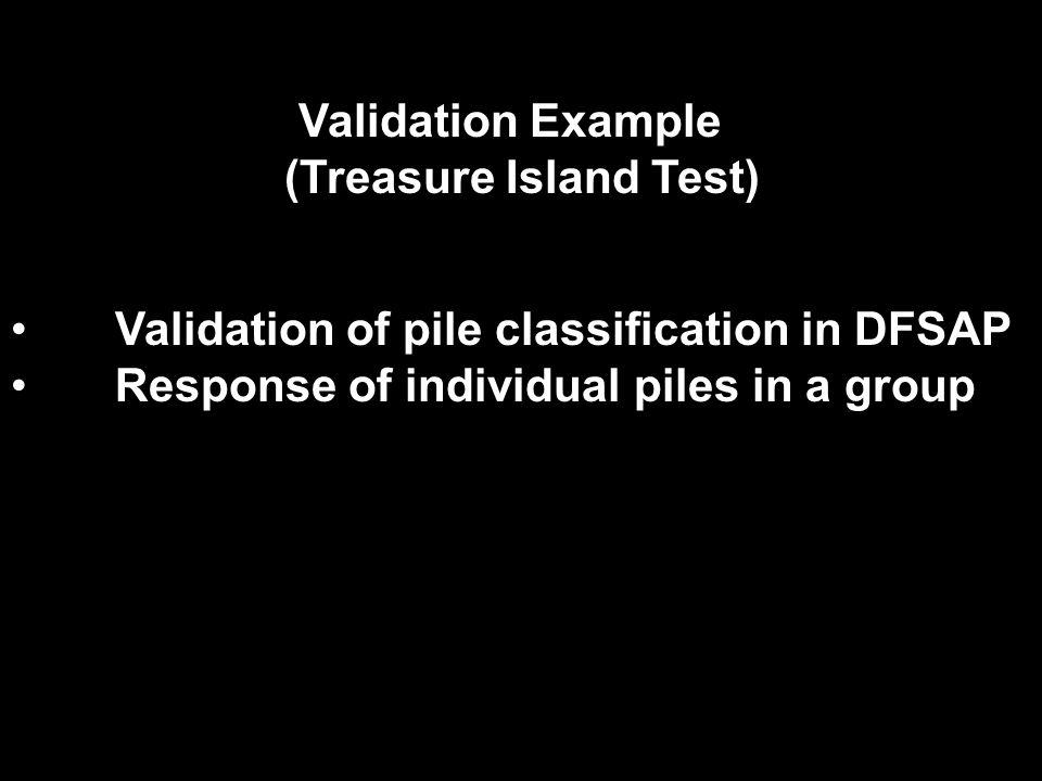(Treasure Island Test)