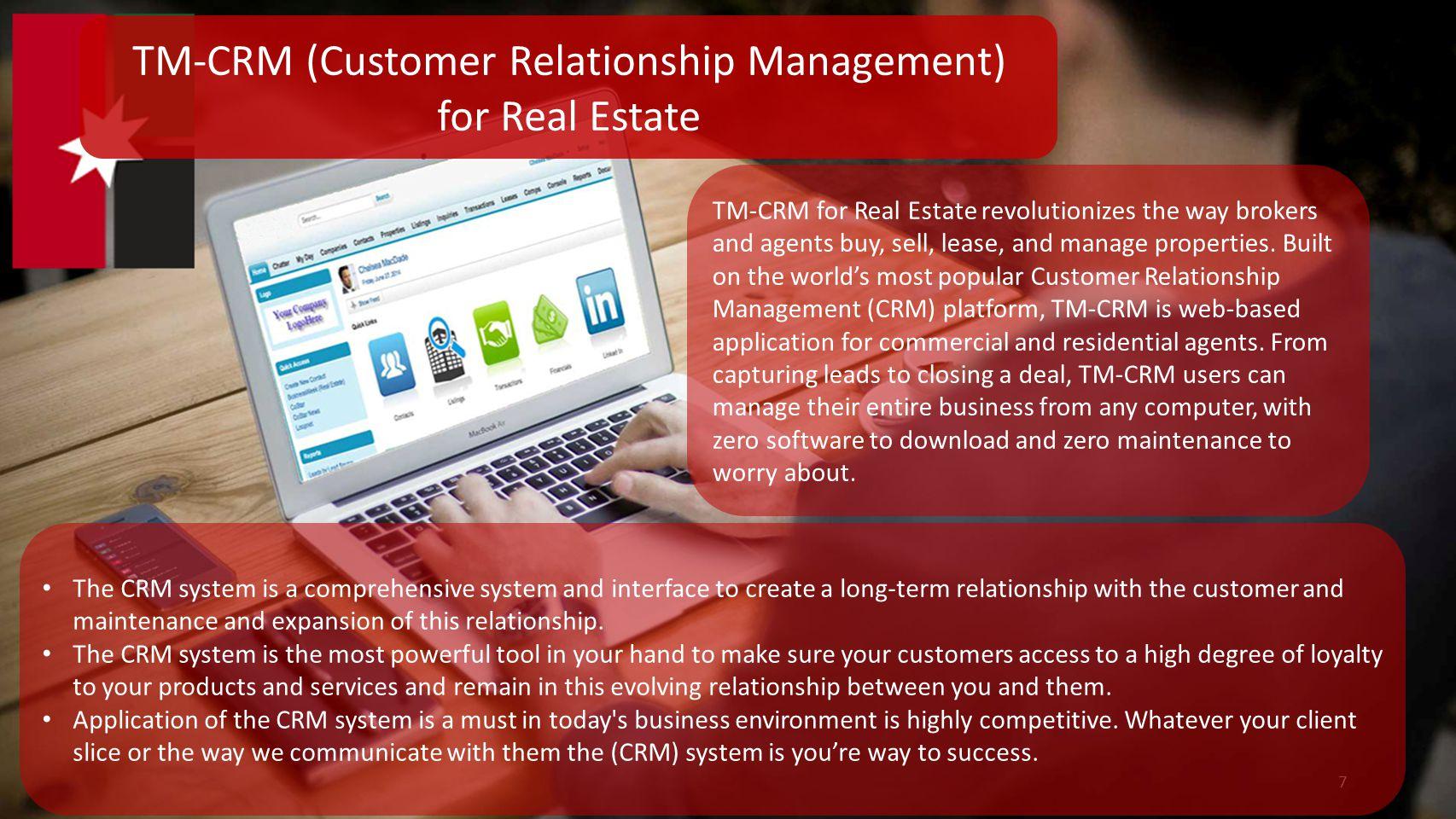 TM-CRM (Customer Relationship Management)