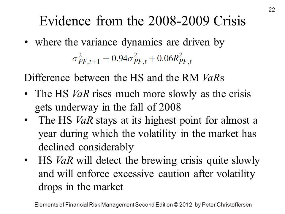 Evidence from the 2008-2009 Crisis