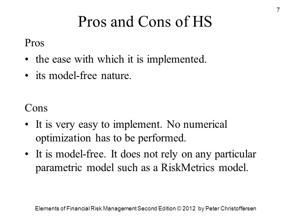 pros and cons of risk management essay Pros and cons of organic farming  denis avery of the hudson institute publicized the increased risk of e coli infection by  organic farming: pros and cons.