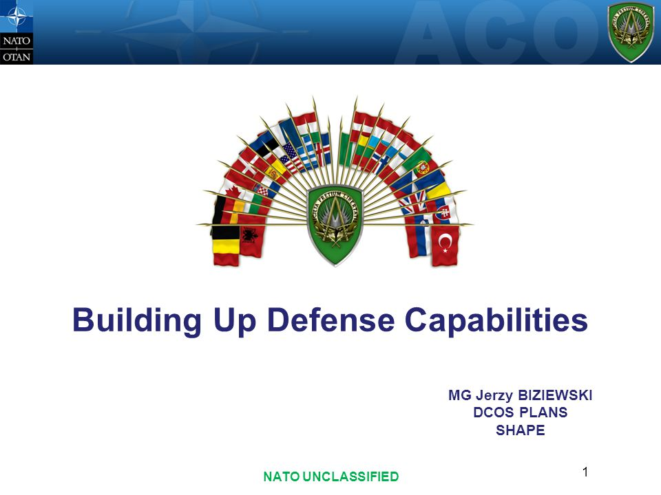 Building Up Defense Capabilities