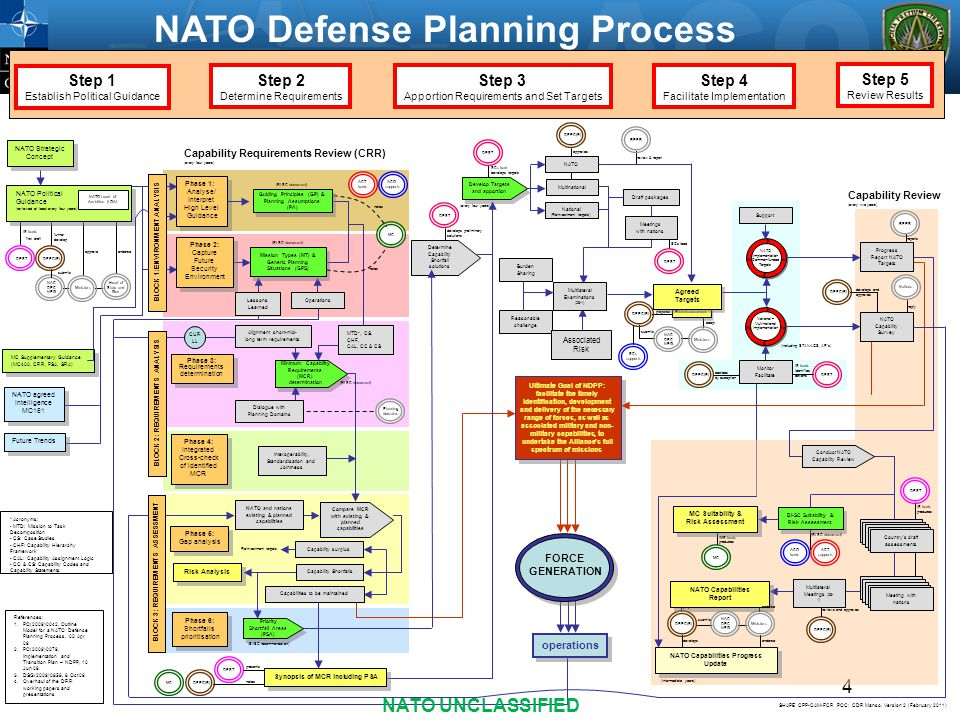 NATO Defense Planning Process